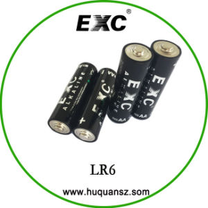 Lr6 Size AA 1.5V Battery Lithium Battery Lr6 AA Battery 1.5V pictures & photos