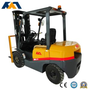 Brand New 3ton Gasoline Forklift with Nissan Engine in Good Condition pictures & photos
