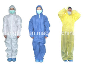 Non Woven Disposable Coverall with CE Anti Virus Type 3/4/5/6 pictures & photos