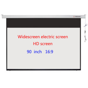 90 Inch Widescreen Projector Screen with Customized pictures & photos