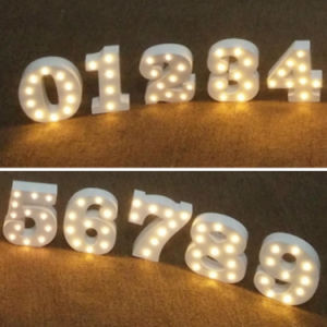 Battery Operated LED Marquee Letters Light Fairground Alphabet Letters pictures & photos