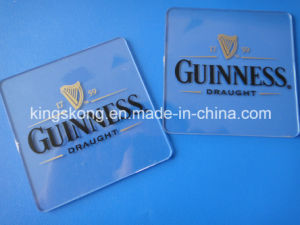 Plastic Clear Acrylic Coasters pictures & photos
