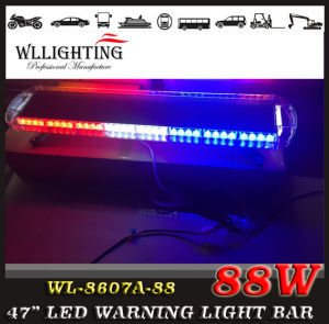 Police Car Red Blue 88W LED Warning Light pictures & photos