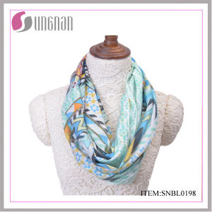 2016 Latest Ethical and Vintage Fresh Cotton Infinity Scarf (SNBL0198) pictures & photos