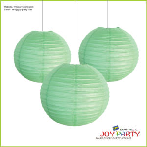 Light Green Paper Lantern for New Year pictures & photos