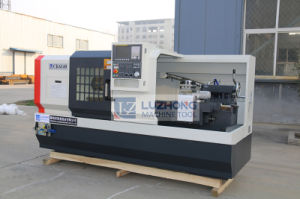 Horizontal Flat Bed Metal CNC Lathe Machine with Price (CK6140) pictures & photos
