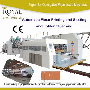 Automatic Flexo Printing and Folder Gluer (Inline) pictures & photos