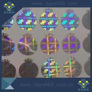 Demetallization Effect Security Laser Sticker pictures & photos