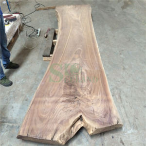 American Black Walnut Solid Table Top for Furniture pictures & photos