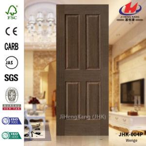 Engineered Wenge Veneer HDF Moulded Door Skin pictures & photos