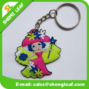 Promotion Custom Soft PVC Rubber Keychain (SLF-KC099) pictures & photos