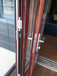 Folding Door System with Flyscreen pictures & photos
