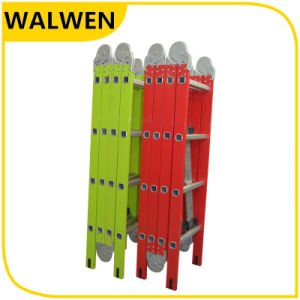 Multi-Purpose Colorful Folding Aluminum Joint Ladder pictures & photos