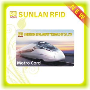 ISO and SGS Approved Cmyk Offset Full Color Printing Hf 13.56MHz RFID Card/Smart Contactless Card for Metro/Subway Ticketing/Access Control pictures & photos