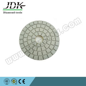 Diamond Wet Polishing Pads for Granite, White Buff pictures & photos