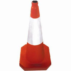 Highly Flexible Rubber Safety Road Cone pictures & photos