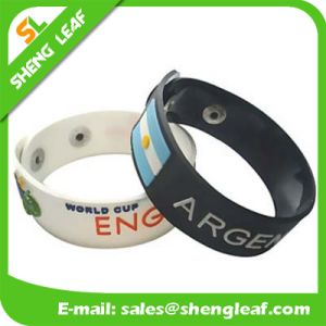 Promotional Gift Printing Silicone Rubber Band pictures & photos