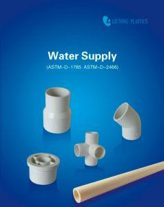 Plastic PVC-U Fitting ASTM Schedule 40 Standard White Colour pictures & photos