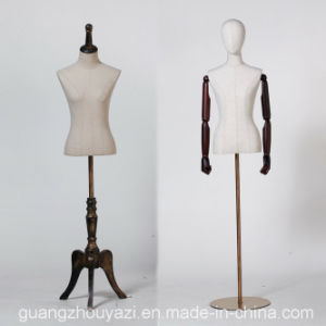 Fabric Wrapped Female Torso Mannequin for Window Display pictures & photos