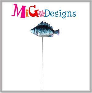 Cute Footloose Fish Metal Garden Stake Ocean Collection pictures & photos