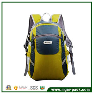 High Quality Wholesale Yellow Promotional Travel Backpack Bag pictures & photos