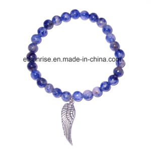 Natural Fashion Crystal Tiger Eye Sodalite Amethyst Beaded Jewelry Chakra Bracelet Bangle pictures & photos