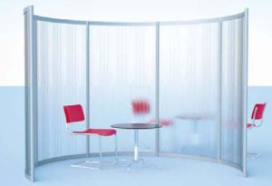Transparent Screen Exhibition Stand pictures & photos