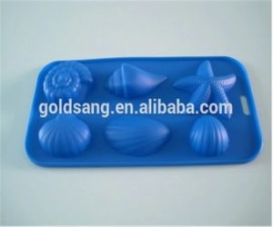 Hot Sell Food Grade Silicone Cake Mould Baking Tools Ice Tray pictures & photos