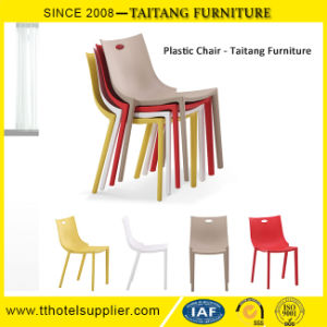 Stacking Plastic Leisure Chair Cafe Restaurant Chair pictures & photos