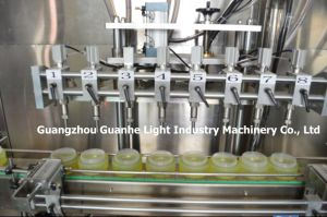 Automatic Bottle Shampoo Filling Machine with Piston-Type Filling (GHALF-8) pictures & photos