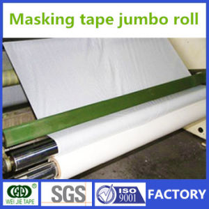 11 Years Experience Crepe Paper Masking Tape Jumbo Roll Manufacturer pictures & photos