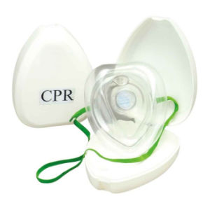 Certificated Mouth to Mouth CPR Mask