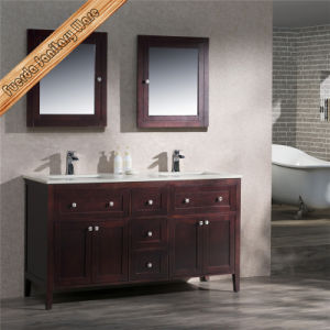 Fed-1958 Modern Solid Wood Bath Cabinet Bath Vanity pictures & photos