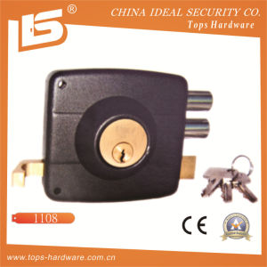 Security Safe Door Rim Lock (1108-100) pictures & photos