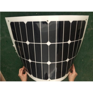 50W Semi Flexible Solar Panel/Solar Module with Sunpower Solar Cells pictures & photos