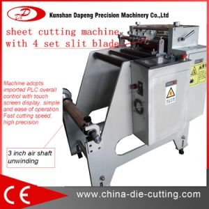 Canvas Roll to Sheet Cutting Machine pictures & photos