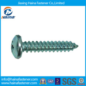 Stainless Steel/Zinc Plated DIN7981 Cross Head Self Tapping Screws pictures & photos