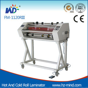 Professional Manufacturer (FM-1120RIII) Double Side Laminating Cold and Hot Roll Laminator pictures & photos