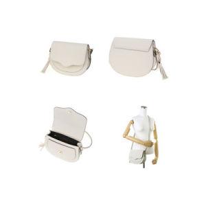 Trendy Ladies Crecent Shoulder Bag PU Saddle Bag Wzx1007 pictures & photos