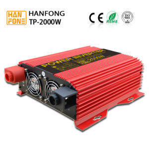 2000watt Hanfong DC AC Inverter with Temperature-Controlled Fan Used in House (TP2000) pictures & photos