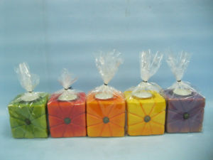 Pumpkin Candlestick Shape Ceramic Crafts (LOE2366B-7z) pictures & photos