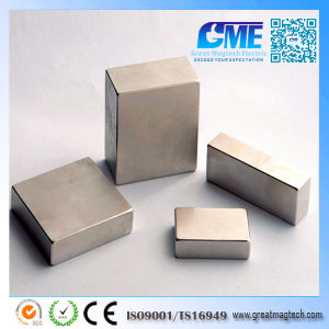 Super Strong N35 N52 Permanent Large Block NdFeB Neodymium Magnet pictures & photos
