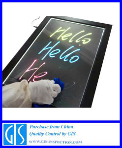 Quality Control Inspection for LED-Menu-Board pictures & photos