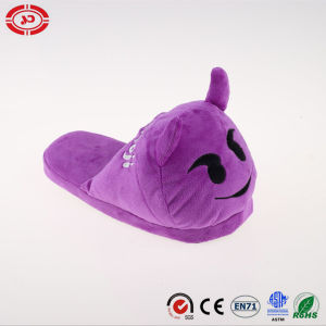Purple Monster fashion Plush Soft Stuffed Slipper Shoe pictures & photos