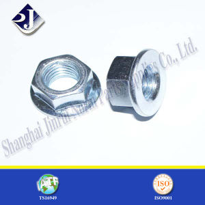 Zinc Plated Hex Flange Nut with Grade 8 pictures & photos