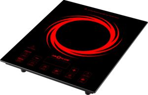 2100W ABS Plastic Cover Touch Control Imported IGBT Induction Hotplate Copper Coil Induction Cooker Electromagnetic Oven pictures & photos