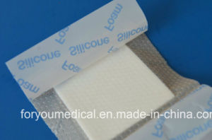Medical Dressing Silicone Foam Dressing for Diabetic Foot Ulcers pictures & photos