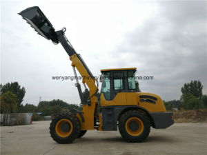 Wy3000 Agricultural Telescopic Boom Wheel Loader pictures & photos