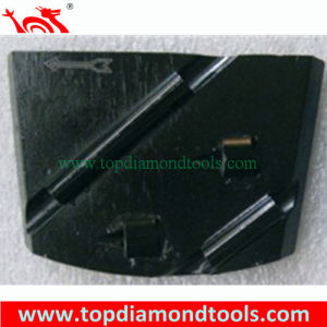 PCD Trapezoid Diamonds  Grinding Disc for Epoxy Coating Removal pictures & photos