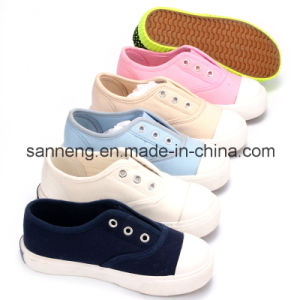 2016 Popular Basic Children′s Canvas Casual Shoes (SNC-020446) pictures & photos